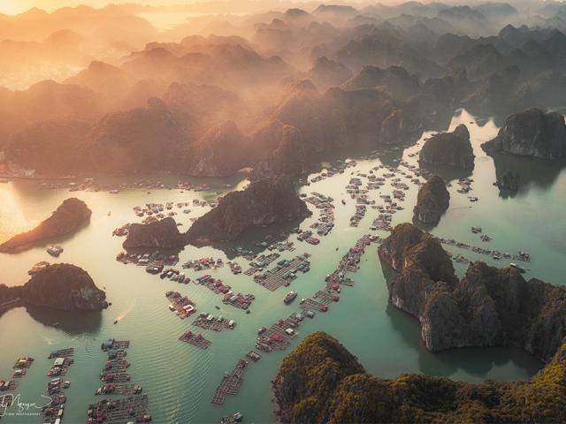 Vịnh nào của Việt Nam xuất hiện trên Instagram của diễn viên Leonardo DiCaprio