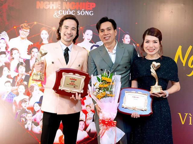 Diễn viên Đoàn Minh Tài xuất hiện với ngoại hình khác lạ tại đêm Gala vinh danh nghệ sĩ vì cộng đồng