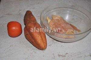 Xuýt xoa món canh gà khoai lang - 1