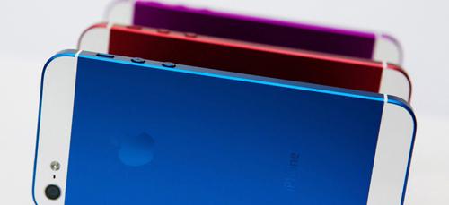 iPhone 5S có nhiều màu, kích thước khác nhau - 1
