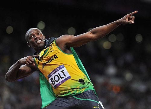 """Usain Bolt phá kỷ lục nhờ ảnh """"nude"""" - 1"""