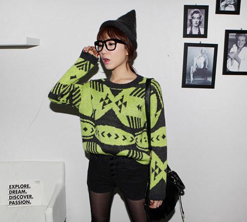 Đa phong cách với áo len ngày lạnh - 1