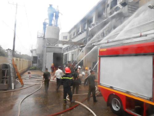 TP.HCM: Nguyên nhân vụ cháy ở khu chế xuất - 1