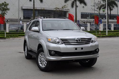 10 mẫu ô tô bán chạy nhất Việt Nam 2012 - 1
