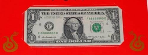 Tờ 1 USD Quý Tỵ giá 5 triệu đồng - 1