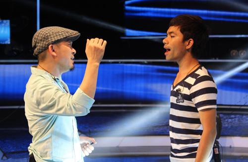 Quốc Trung chưa hài lòng với Top 3 VN Idol - 1