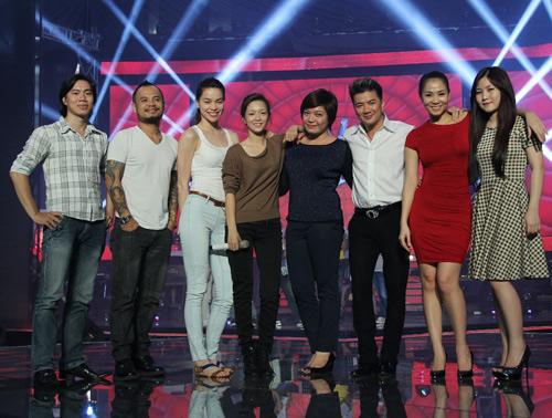 Team The Voice rạng rỡ trước giờ G - 1