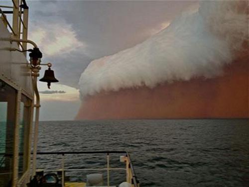 Chùm ảnh: Bão cát kinh hoàng ở Australia - 1