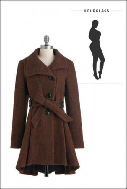 Chọn áo khoác dài cho từng vóc dáng - 1