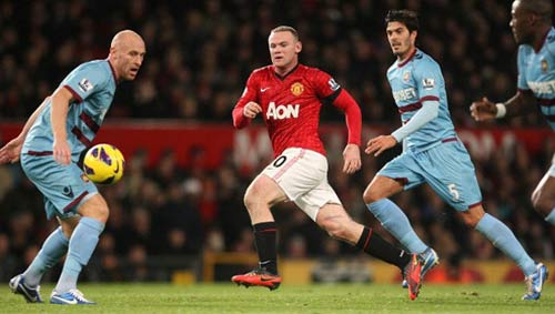 MU – West Ham: Sân khấu chờ Rooney - 1