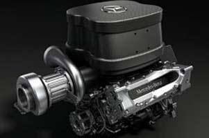 Mercedes hé lộ động cơ Turbo cho xe F1 2014 - 1