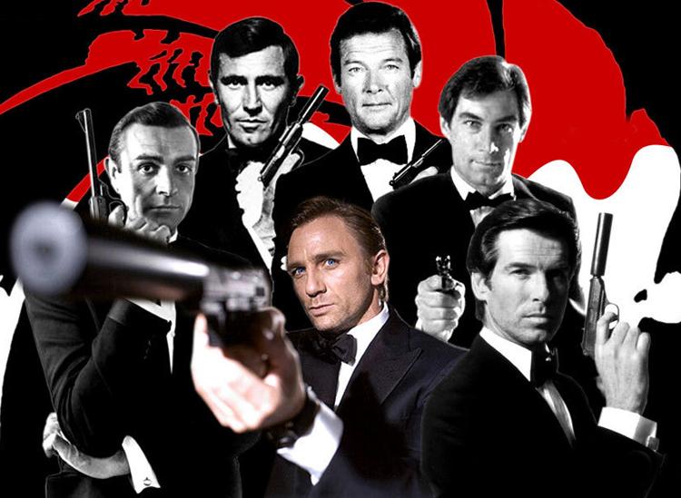 Những tài tử từng vào vai điệp viên 007