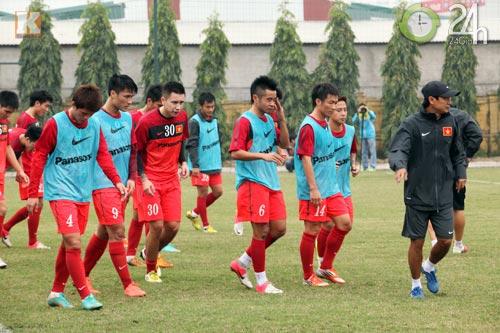 Đội tuyển Việt Nam: Hồ hởi vào cuộc - 1