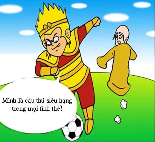 Tây Du Ký hài: Đội bóng Đường Tăng - 1