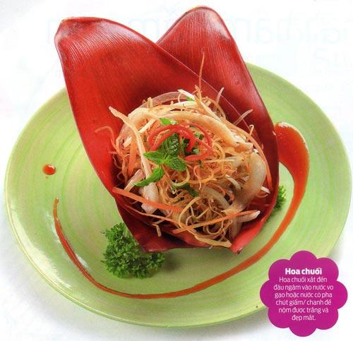 Thân quen với nộm hoa chuối trộn tai heo - 1
