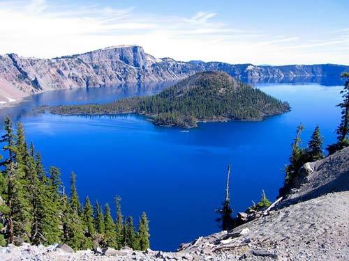 Huyền bí vẻ đẹp công viên quốc gia Crater Lake - 1