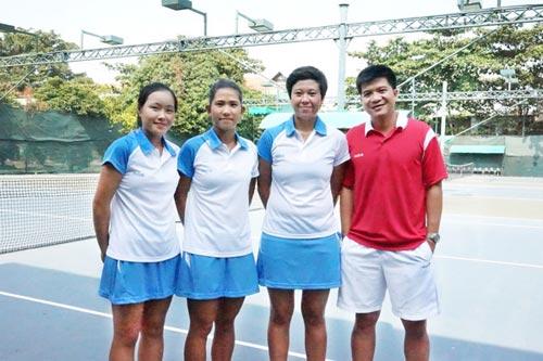 Quần vợt Việt Nam khởi đầu Fed Cup thuận lợi - 1