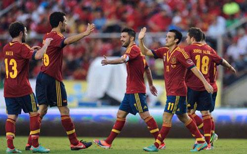 Tây Ban Nha – Uruguay: Phô diễn ở Doha - 1