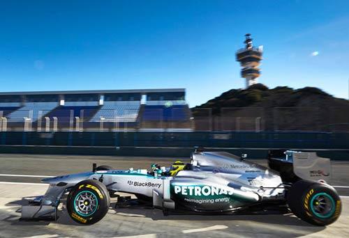 F1: Mercedes hướng đến thành công với W04 - 1