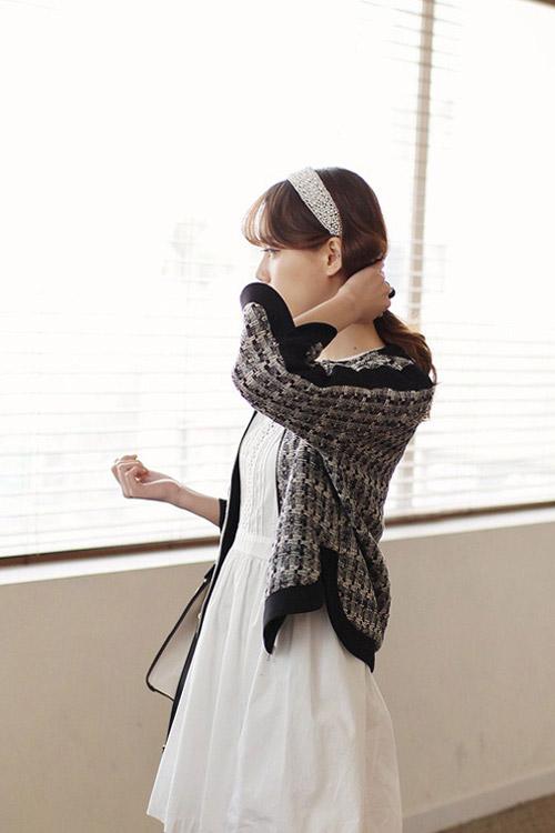 Mách bạn mặc đẹp với vải tweed - 1
