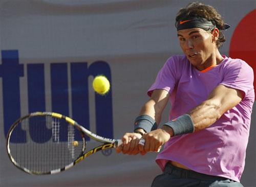 Nadal hạnh phúc với chiến thắng ở Chile - 1