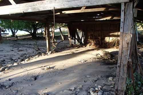 Cảnh đổ nát ở quần đảo Solomon sau động đất - 1