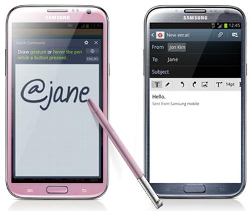 Galaxy Note 2 màu hồng cho lễ tình nhân - 1