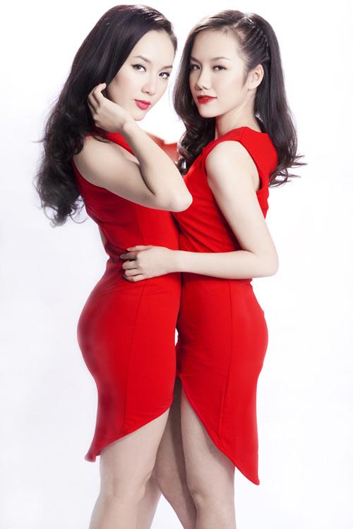 Chị em Phương Linh đọ nét duyên dáng - 1