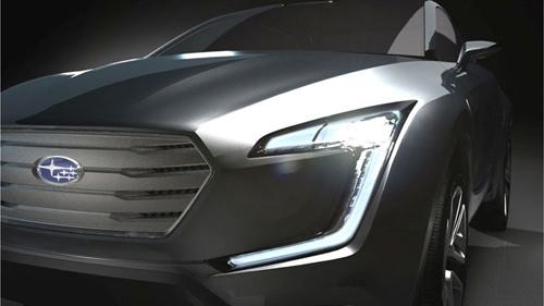 Viziv - Hiện thân cho xe crossover mới của Subaru - 1