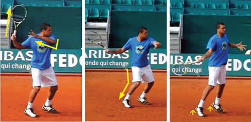 Tennis: Thuận tay bóng bạt của Tsonga - 1