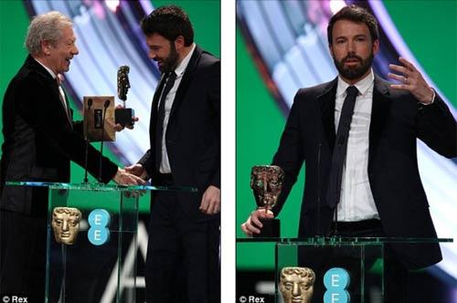 Ben Affleck lại đại thắng tại BAFTAs - 1