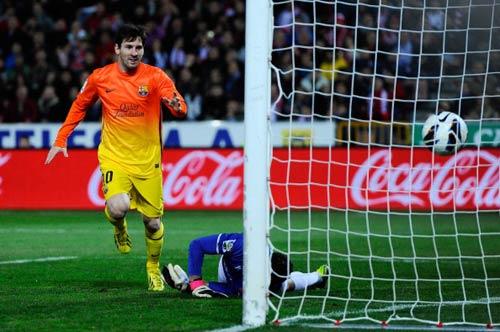 Barca: Siêu nhân Messi - 1