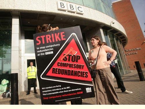 BBC náo loạn vì đình công - 1