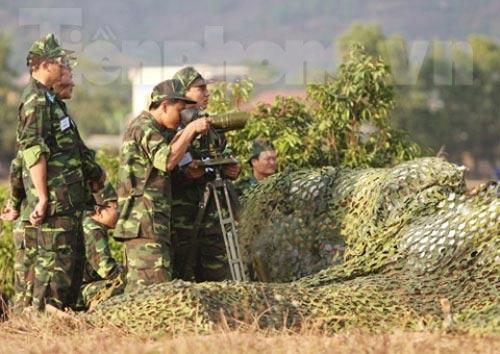 Xem tên lửa vác vai của Việt Nam khai hỏa - 1