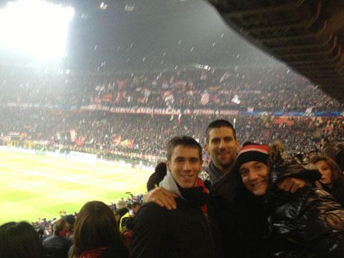 Djokovic tới San Siro cổ vũ Milan - 1