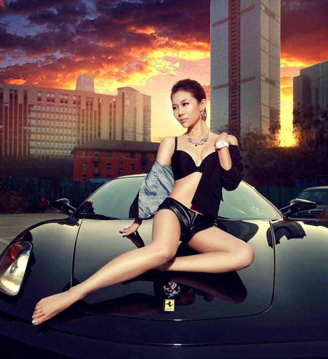 Diễm My 9x 'lột bỏ xiêm y' bên xế sang Hotgirl sexy rửa xe chơi tết Những siêu mẫu Việt sexy bên xe 2012 Mỹ nhân Thái Lan khoe sắc cùng xế yêu