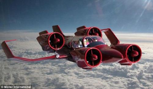 Ô tô bay giá 80 triệu USD sắp xuất hiện trên phố - 1