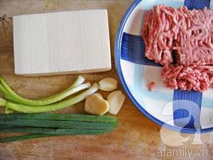 Mapo tofu- món đậu phụ xào thịt cực ngon - 1
