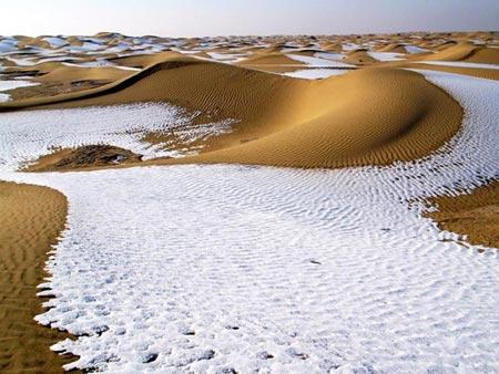 Ngỡ ngàng trước những sa mạc cực lạ - 1
