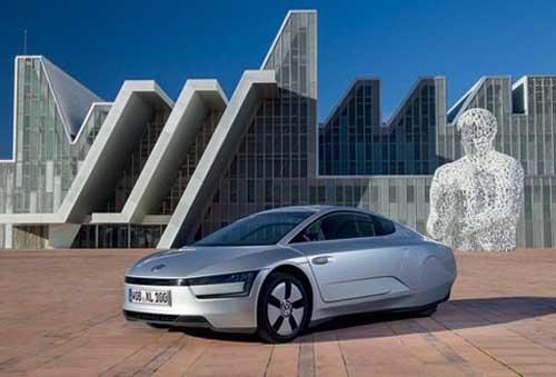 Volkswagen ra mắt ô tô chạy 1lít/100km - 1