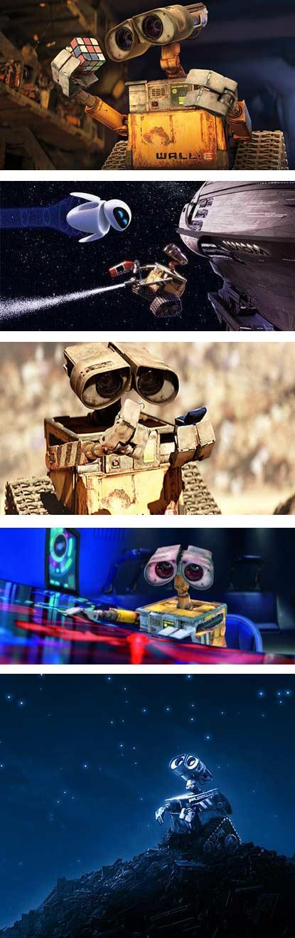 Traler phim: Wall-e - 1