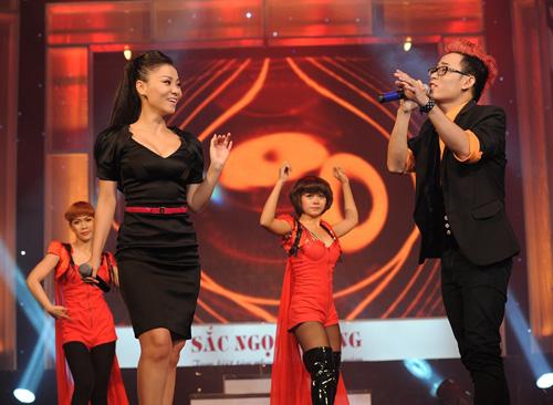 Thu Minh tái xuất bên trò cưng The Voice - 1