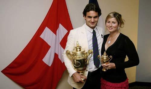 Đằng sau thành công của Federer là Mirka (Kỳ 2) - 1