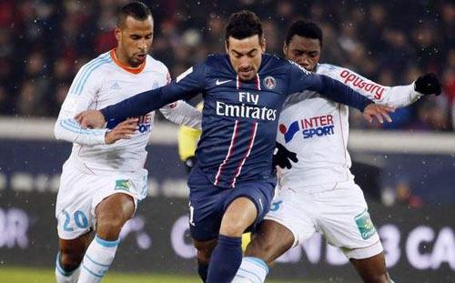 PSG - Marseille: Cắt đuôi bám đuổi - 1