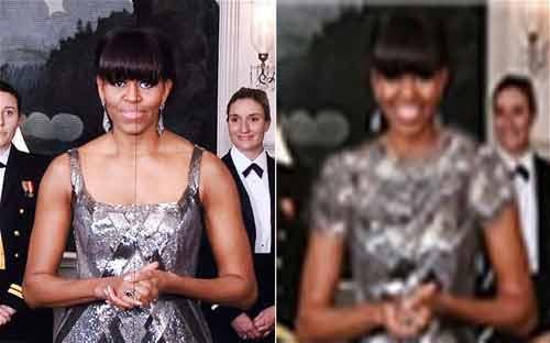 """Iran: """"Thay váy"""" cho bà Obama tại Oscars - 1"""