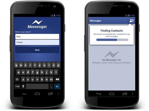 Facebook nã đại bác vào ứng dụng liên lạc miễn phí - 1