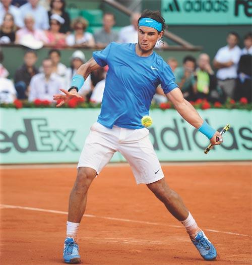 Nadal & thế chân cho cú forehand - 1