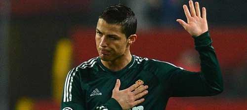 Loại MU, Ronaldo buồn vui lẫn lộn - 1