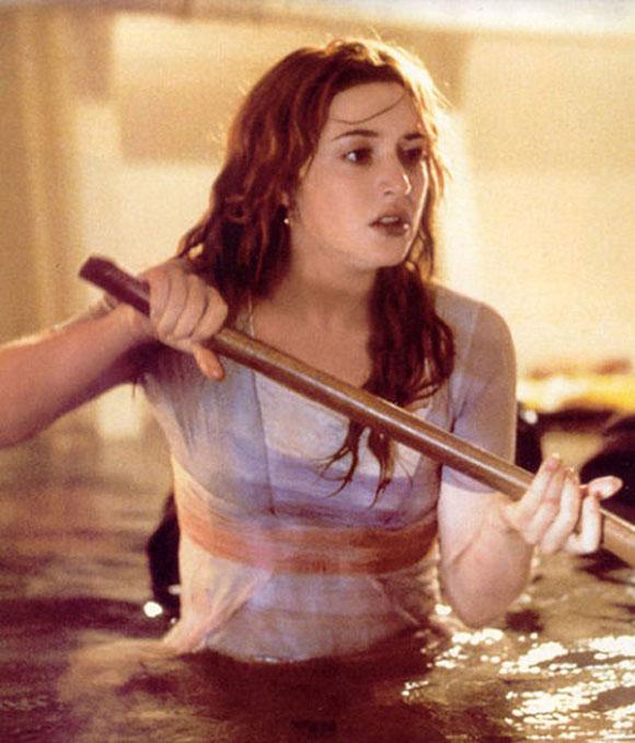 Bất ngờ với ảnh hậu trường phim Titanic - 1