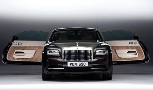 Rolls-Royce Wraith: Lĩnh ấn tiên phong - 1